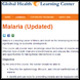 Malaria E-learning Course