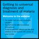 MalariaCare webinar